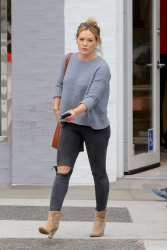 Hilary Duff - Out for lunch in Beverly Hills 6/13/15