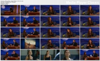 Rhona Mitra - Conan O'Brien - 6-19-14