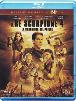 Il Re Scorpione 4 - La conquista del potere (2015) .mkv HD 720p HEVC x265 DTS ITA AC3 ENG
