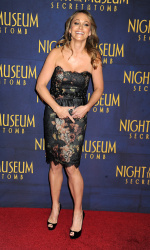 Christine Taylor 'Night At The Museum Secret Of The Tomb' New York premiere 12/11/2014 4