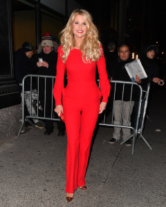 Christie Brinkley - Arriving At the Sports Illustrated Swimsuit Issue Launch Event in NYC - February 16th 2017