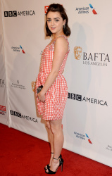 Maisie Williams - The BAFTA Tea Party in Los Angeles 1/7/17