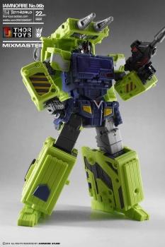 [Toyworld] Produit Tiers - Jouet TW-C Constructor aka Devastator/Dévastateur (Version vert G1 et jaune G2) - Page 5 POXywM07