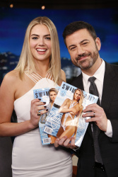 Kate Upton - Jimmy Kimmel Live: February 14th 2017