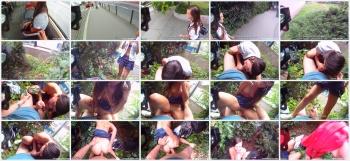 [FuckingGlasses.com] Masha - Fucked for cash near the bus stop (2013) [HD 1080p]