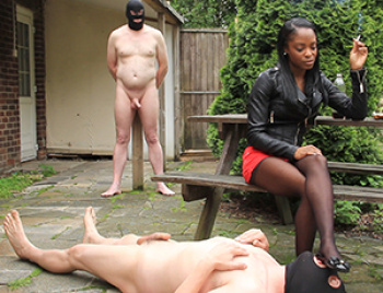 Young Black Mistress Annabelle