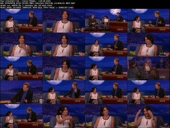 Courteney Cox - Conan O'Brien - 1-13-14