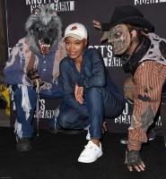 Keke Palmer - Knott's Scary Farm Opening Night 9_30_16