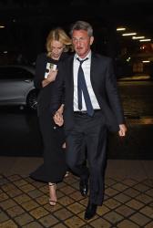 Sean Penn - Charlize Theron and Sean Penn - seen leaving Royal Festival Hall. London - February 16, 2015 (153xHQ) MlKqSp0u