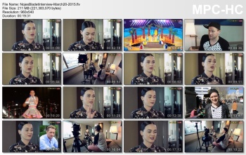 Katy Perry - Nojes Bladet Interview - March 2015 - Caps+Video