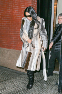 Kim Kardashian -  At The Mercer Hotel In NYC - February 14th 2017