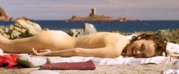Natalie Portman - Planetarium Promo Peek (naked) + GIFs