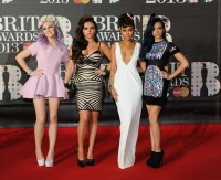 Little Mix at The BRIT Awards in London 20th February x10