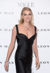 Lily Donaldson - Vogue 100: A Century Of Style @ the National Portrait Gallery in London - 02/09/16