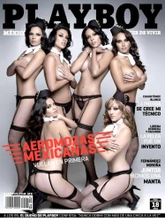 the4um.com.mx Playboy Mexico Aeromosas Mexicanas