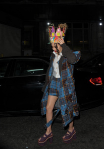 Charli XCX - Mad Max Party During LFW in London - February 20th 2017