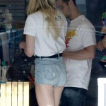 Sophie Turner in Tight Shorts