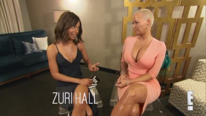 "Amber Rose Is ""Happy"" for Rob Kardashian and Blac Chyna 