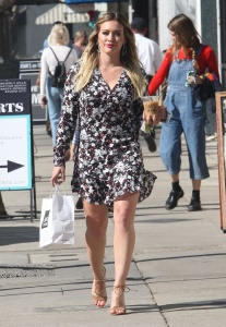 Hilary Duff - Leaving Joan's on Third in Studio City - March 3rd 2017