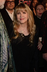 Stevie Nicks - School Of Rock Broadway Opening Night @ the Winter Garden Theatre in NYC - 12/06/15