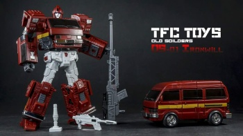 [TFC Toys] Produit Tiers - OS-01 Ironwill (aka Ironhide/Rhino) & OS-03 Medic (aka Ratchet/Mécano) - Page 2 GxhkrJYA
