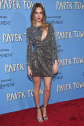 "Cara Delevingne - ""Paper Towns"" Premiere in NYC 7/21/15"
