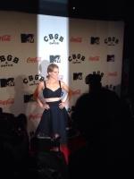"""Stana Katic """"CBGB """" premiere in NYC 10/8/13"""