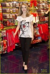 Bridgit Mendler - at the Disney Store in Manchester, England 2/27/13