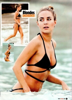 Kimberley Garner-UPFRONT-ZOO Magazine (14th March 2014)
