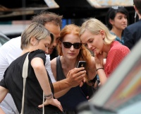 Джессика Честейн, фото 2280. Jessica Chastain On the set of 'The Disappearance of Eleanor Rigby' in New York City - July 13, 2012, foto 2280